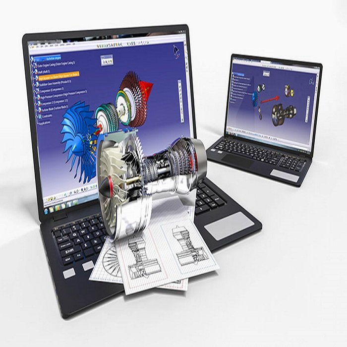 نرم افزار کتیا (CATIA) نرم افزار کتیا نرم افزار کتیا در طراحی اتصالات هات تپ CADSoftware Cover